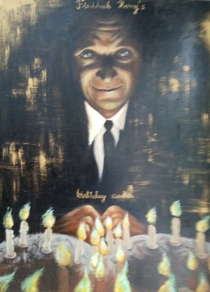 Flashback Harvey´s birthday candles, Jasper Zoova 1998